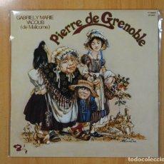 Discos de vinilo: GABRIEL Y MARIE YACOUB - PIERRE DE GRENOBLE - LP. Lote 121799310
