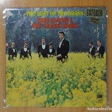 Discos de vinilo: HERB ALPERT & THE TIJUANA BRASS - THE BEAT OF THE BRASS - LP. Lote 121800479