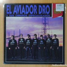 Discos de vinilo: EL AVIADOR DRO Y SUS OBREROS ESPECIALIZADOS - HEROES DE LOS 80 - LP. Lote 121800615