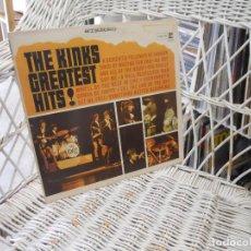 Discos de vinilo: THE KINKS– THE KINKS GREATEST HITS!.LP ORIGINAL USA 1966.SELLO REPRISE. Lote 121800911