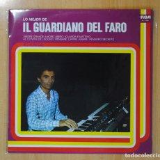 Discos de vinilo: IL GUARDIANO DEL FARO - LO MEJOR DE IL GUARDIANO DEL FARO - LP. Lote 121802231