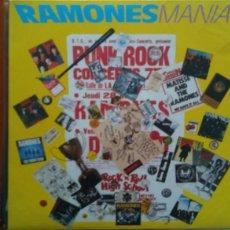 Discos de vinilo: RAMONES--RAMONES MANIA .1988.. Lote 121802410