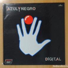 Discos de vinilo: AZUL Y NEGRO - DIGITAL - LP. Lote 121802636