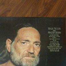 Discos de vinilo: WILLIE NELSON SING KRISTOFFERSON. 1.979-80. Lote 121805835