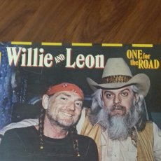 Discos de vinilo: WILLIE AND LEÓN. ONE FOR THE ROAD. 2 DISCOS 1.979 -80.. Lote 121806183