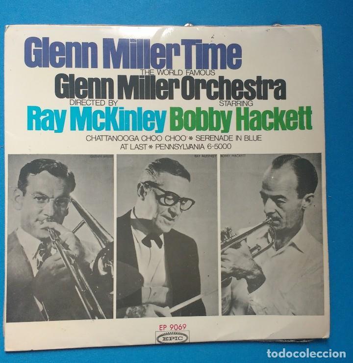 THE WORLD FAMOUS GLENN MILLER ORCHESTRA* ?– GLENN MILLER TIME (Música - Discos de Vinilo - EPs - Jazz, Jazz-Rock, Blues y R&B)