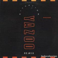 Discos de vinilo: YAZOO - SITUATION (REMIX) - MUTE - 12 YAZ 4 - UK. Lote 121816579