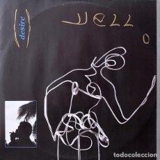 Discos de vinilo: YELLO - DESIRE - ELEKTRA - EKR 17T - UK. Lote 121817711