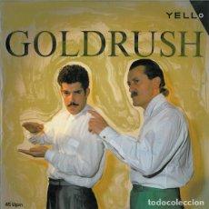 Discos de vinilo: YELLO - GOLDRUSH - VERTIGO - 884 877-1 - SPAIN. Lote 121818583