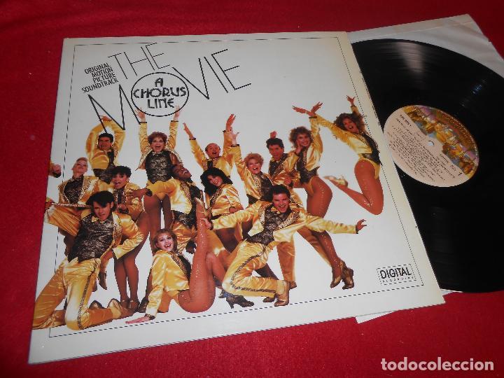 THE CHORUS LINE BSO OST LP 1985 CASABLANCA GATEFOLD EDICION ESPAÑOLA SPAIN (Música - Discos - LP Vinilo - Bandas Sonoras y Música de Actores )