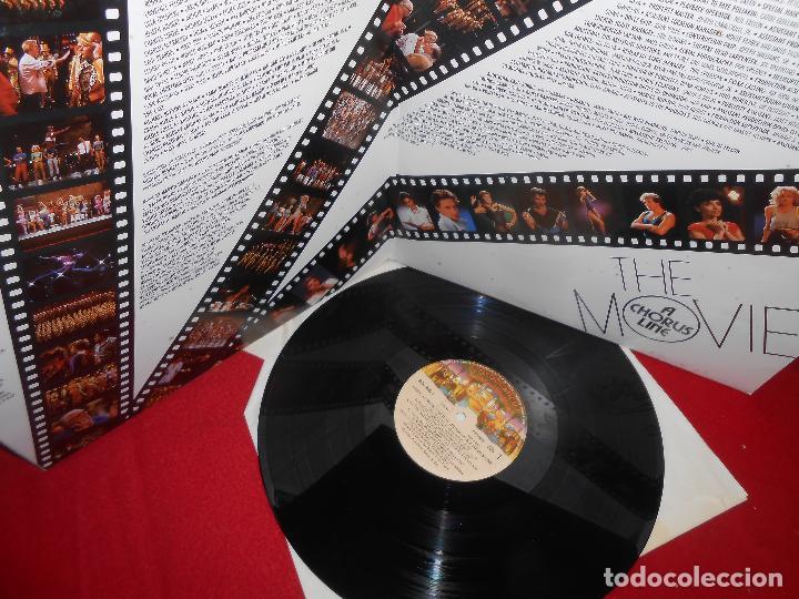 Discos de vinilo: THE CHORUS LINE BSO OST LP 1985 CASABLANCA GATEFOLD EDICION ESPAÑOLA SPAIN - Foto 2 - 121820095