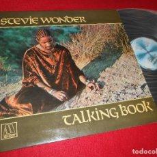 Discos de vinilo: STEVIE WONDER TALKING BOOK LP 1976 MOTOWN GATEFOLD EDICION ESPAÑOLA SPAIN. Lote 121821051