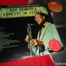 Discos de vinilo: RAY CONNIFF CONCIERTO EN ESTEREO 2LP 1970 CBS GATEFOLD EDICION ESPAÑOLA SPAIN. Lote 121821443