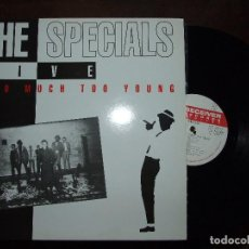 Discos de vinilo: THE SPECIALS LIVE TOO MUCH TOO YOUNG - RECIVER 1992 PERFECTO. Lote 121821611