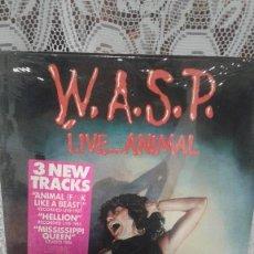Discos de vinilo: WASP LIVE...ANIMAL. Lote 121824451