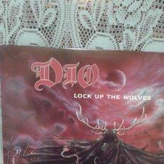 Discos de vinilo: DIO LOCK UP THE WOLVES. Lote 121824603