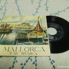 Discos de vinilo: MALLORCA Y SU MÚSICA DANSADORS DE LA VALLA DOR. Lote 121826819