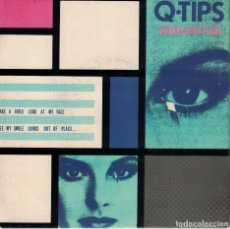 Discos de vinilo: Q-TIPS - TRACKS OF MY TEARS / DIFFERENT WORLD (SINGLE ESPAÑOL, CHRYSALIS 1980). Lote 121826871