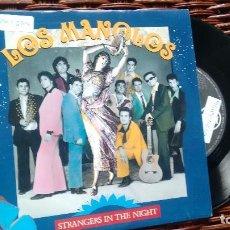 Discos de vinilo: SINGLE ( VINILO) DE LOS MANOLOS AÑOS 90. Lote 121838811