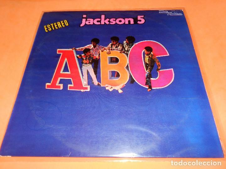 JACKSON 5. ABC. 1970. TAMLA MOTOWM RECORDS. MS 9017. ESTEREO. BUEN ESTADO (Música - Discos - LP Vinilo - Funk, Soul y Black Music)