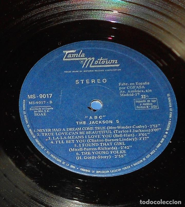 Discos de vinilo: JACKSON 5. ABC. 1970. TAMLA MOTOWM RECORDS. MS 9017. ESTEREO. BUEN ESTADO - Foto 4 - 121852779