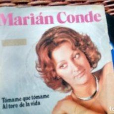 Discos de vinilo: SINGLE (VINILO) DE MARIAN CONDE AÑOS 70. Lote 121860903