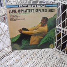 Discos de vinilo: CLYDE MCPHATTER– CLYDE MCPHATTER'S GREATEST HITS.LP ORIGINAL USA 1960.SELLO MGM.RHYTHM & BLUES. Lote 121862359
