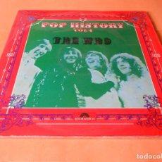 Discos de vinilo: THE WHO - POP HISTORY VOL. 4 - EDICIÓN DE 1971 DE ESPAÑA - DOBLE LP- BUEN ESTADO. Lote 121869027