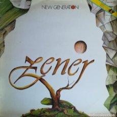 Discos de vinilo: ZENER - NEW GENERATION - ZAFIRO - OOS - 769 - SPAIN. Lote 121871359