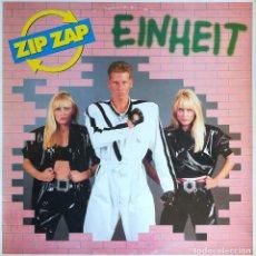 Discos de vinilo: ZIP ZAP - EINHEIT - MAX MUSIC - MMA-461 - SPAIN. Lote 121873083