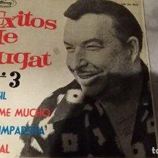 Discos de vinilo: XAVIER CUGAT Y SU ORQUESTA,EXITOS Nº 3 (BRASIL, BESAME MUCHO,ETC). Lote 121877603
