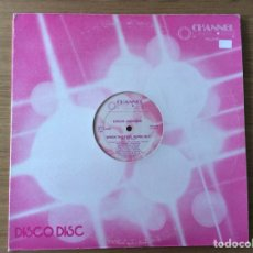 Discos de vinilo: CHUCK JACKSON WHEN THE FUEL RUNS OUT MAXI SELLO CHANNEL USA EXC. Lote 121880324