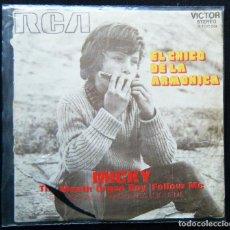Discos de vinilo: MICKY / THE MOUTH ORGAN BOY - FOLLOW ME.. Lote 121880647