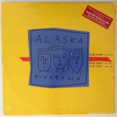 Discos de vinilo: ALASKA Y DINARAMA MX BAILADO MIX REMIX RADIO. Lote 125109008