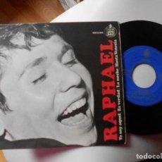 Discos de vinilo: RAPHAEL-EP YO SOY AQUEL +3. Lote 121886423