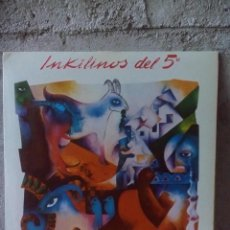 Discos de vinilo: INKILINOS DEL 5- EL AFRICANO.1984. Lote 121891539