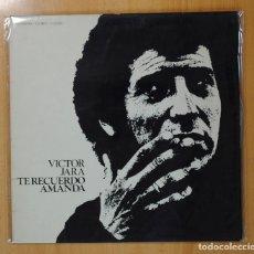 Discos de vinilo: VICTOR JARA - TE RECUERDO AMANDA - LP. Lote 121893611