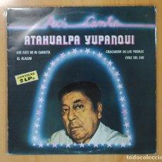 Discos de vinilo: ATAHUALPA YUPANQUI - ASI CANTA - 2 LP. Lote 121894774