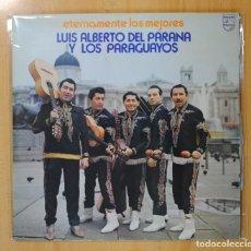 Discos de vinilo: LUIS ALBERTO DEL PARANA Y LOS PARAGUAYOS - ETERNAMENTE LOS MEJORES - 2 LP. Lote 121895679
