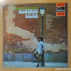 Discos de vinilo: ALBERTO SILVA - TANGOS PARA BAILAR CON VOS - LP. Lote 121895807