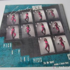 Discos de vinilo: CINDY VALENTINE - PICK UP THE PIECES (TO MY HEART) (5 VERSIONES) 1989 USA MAXI SINGLE. Lote 121896643
