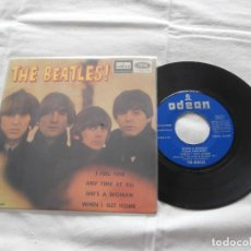 Discos de vinilo: THE BEATLES 7´EP I FEEL FINE + 3 TEMAS (1964) ORIGINAL ESPAÑA - EN BUEN ESTADO -. Lote 121900063