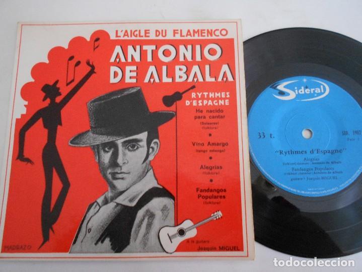 ANTONIO DE ALBALA-EP HE NACIDO PARA CANTAR +3 (Música - Discos de Vinilo - EPs - Flamenco, Canción española y Cuplé)