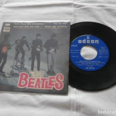Discos de vinilo: THE BEATLES 7´P HERE, THERE AND EVERYWHERE (1966) ORIGINAL ESPAÑOL - BUENA CONDICION - MUY RARO. Lote 121913671