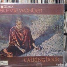 Discos de vinilo: STEVIE WONDER - TALKING BOOK (LP, ALBUM) 1972 GERMANY. Lote 121918575