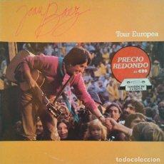 Discos de vinilo: JOAN BAEZ - TOUR EUROPEA. Lote 121928139