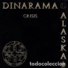 Discos de vinilo: DINARAMA + ALASKA - CRISIS - NO HAY - SEÑORA KLEENEX. Lote 121928939