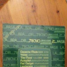 Discos de vinilo: LA ERA DEL TECNO 1982. Lote 121932643