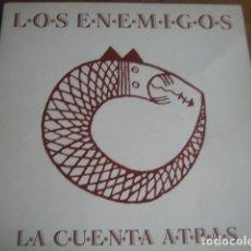 Discos de vinilo: LOS ENEMIGOS - LA CUENTA ATRÁS *********** LP 1991 MIRAR ESTADO. Lote 121934075