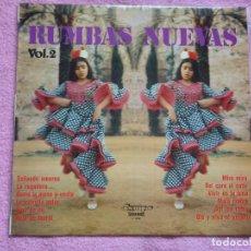 Discos de vinilo: RUMBAS NUEVAS(LOS DUENDES DEL GUADALQUIVIR,SALAKO Y OTROS) VOL.2 DEL 75. Lote 121941943